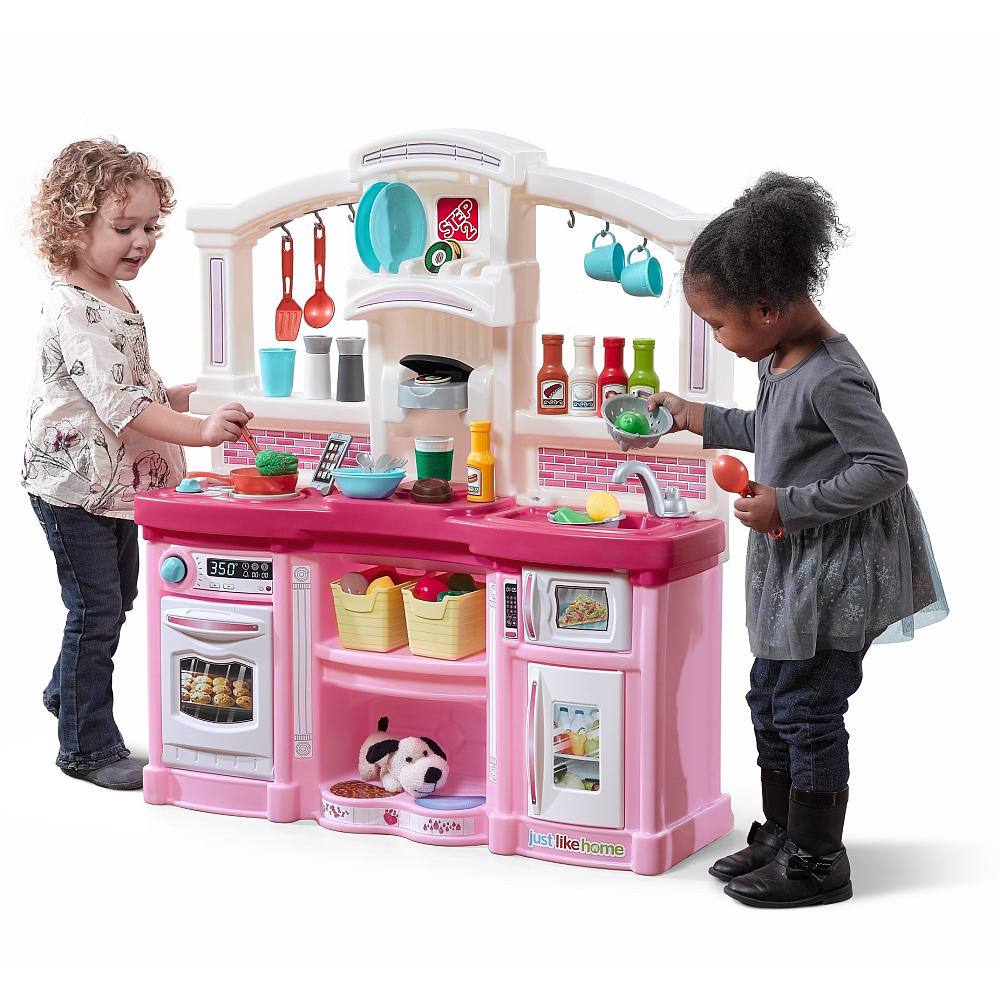 Buy Just Like Home Fun With Friends Kitchen Pink Toys For Kids