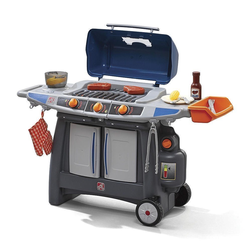 Buy JUST LIKE HOME SIZZLE & SMOKE BARBEQUE GRILL™ - toys for