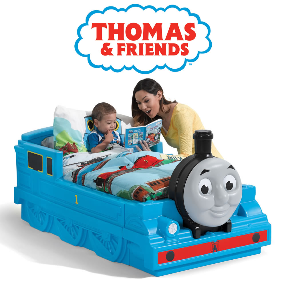 43d44313771 Buy THOMAS THE TANK ENGINE™ TODDLER BED™ - toys for kids & toddlers | Step2  Middle East
